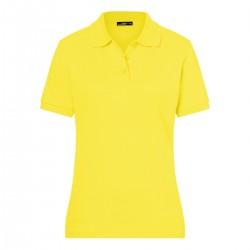 Polo donna gialla